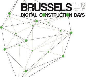 Brussels digital construction days logo s