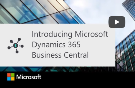 Dynamics 365 business central introvideo 450