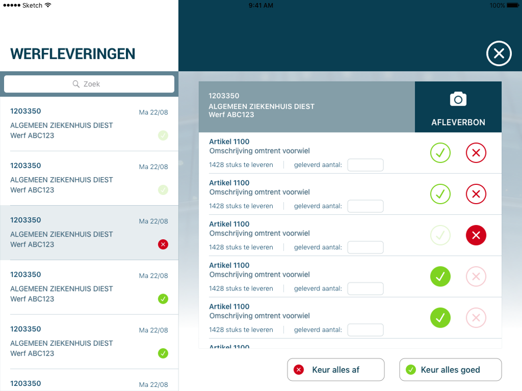 Apps - projectleiding werflevering